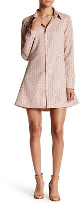 HYFVE Long Sleeve Mini Dress