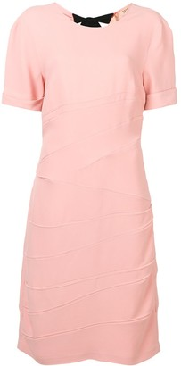 No.21 bow-detail mid dress