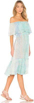 Juliet Dunn Off the Shoulder Dress