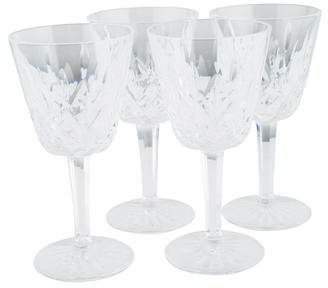 Waterford Set of 4 Lismore Claret Wine Glasses