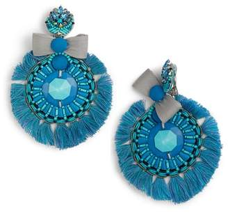 Ranjana Khan Alouette Tassel Earrings