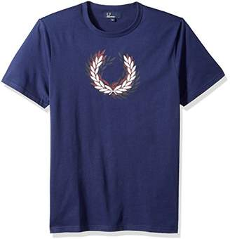 Fred Perry Men's Distorted Laurelwreath T-Shirt