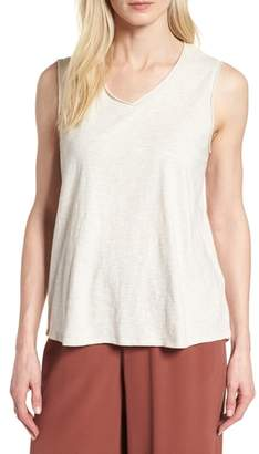 Eileen Fisher Organic Cotton Knit Tank