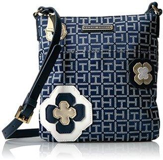Tommy Hilfiger Floral Jacquard Crossbody $78 thestylecure.com