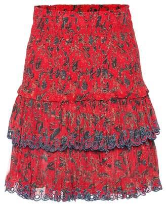 40e712a6f9874 Etoile Isabel Marant Isabel Marant, étoile Naomi printed cotton miniskirt