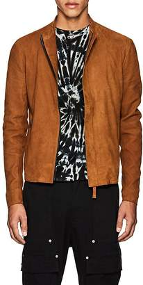 Barneys New York Lot 78 x LOT 78 X MEN'S SUEDE BIKER JACKET