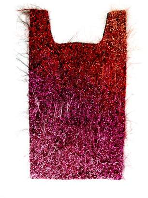 Ashish Tinsel Sequin Embellished Cotton Tote - Womens - Multi