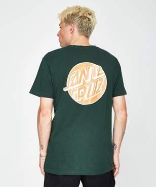 Santa Cruz Fish Eye Dot T-shirt Green