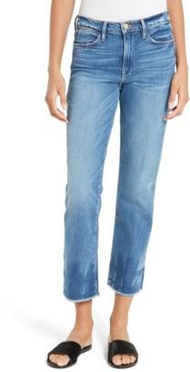 Frame Women's Le High Raw Edge High Waist Jeans