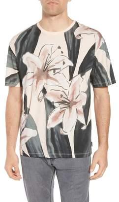 Ted Baker Slim Fit Milions Floral T-Shirt