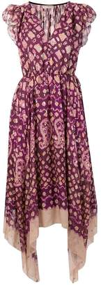 Ulla Johnson printed draped dress
