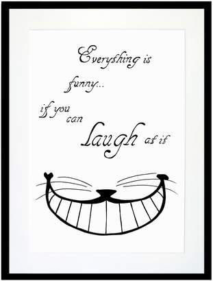 Eleanor Stuart - Everything Is Funny Print