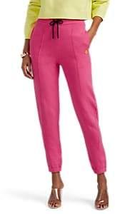 Marcelo Burlon County of Milan Women's Sleepwalker Cotton Fleece Drawstring Sweatpants - Pink