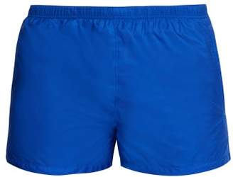 Prada Nylon Swim Shorts - Mens - Blue