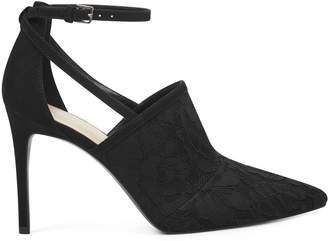 Tahan Pointy Toe Ankle Strap Pumps