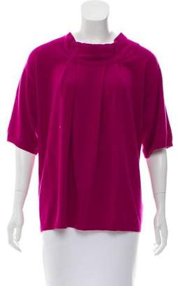 TSE Pleated Cashmere Sweater