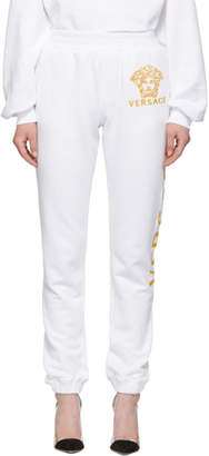 Versace White Medusa Lounge Pants