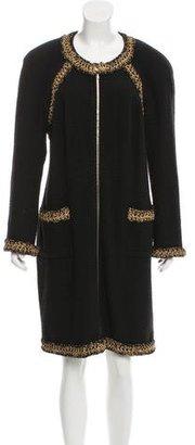 Chanel Paris-Shanghai Wool Coat