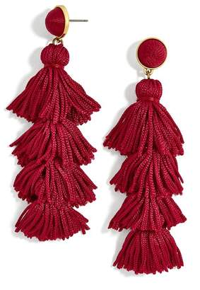 BaubleBar Taylor Tassel Drop Earrings