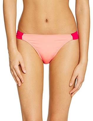 Saint Tropez Kiwi Women's Skort Plain or unicolor Bikini Bottoms