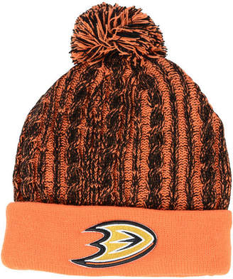 Authentic Nhl Headwear Women Anaheim Ducks Iconic Ace Knit Hat