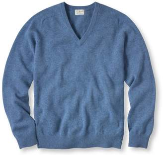 L.L. Bean L.L.Bean Lambswool V-Neck Sweater