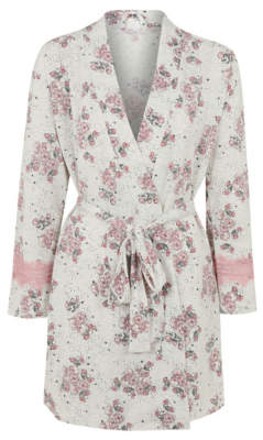 George Tickled Pink Floral Dressing Gown