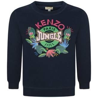 Kenzo KidsGirls Navy Elween Sweater