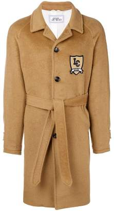 Lc23 brand patch oversized coat