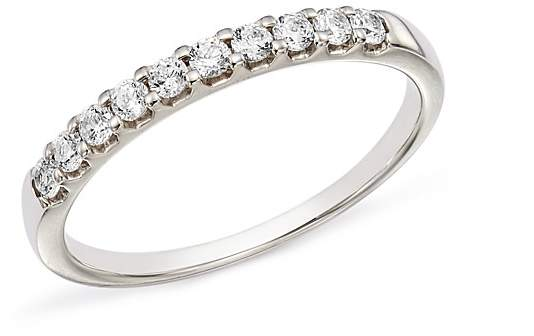 Bloomingdale's Diamond Shared Prong Band in Platinum, 0.25 ct. t.w. - 100% Exclusive