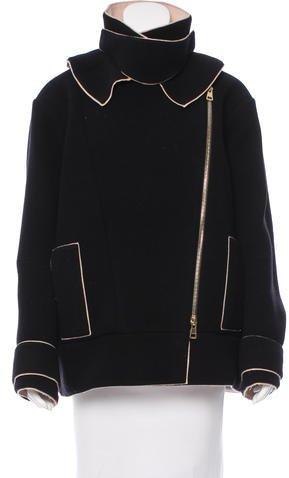 Chloé Chloé Double-Faced Virgin Wool Coat