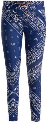 The Upside Bandana graphic-print performance leggings