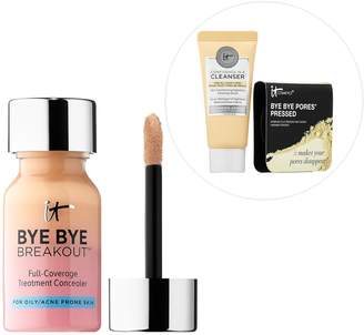 It Cosmetics Bye Bye, Breakout! Hello, Confidence! Customizable Full-Coverage Concealer Kit