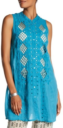 Johnny Was Sleeveless Button Up Tunic $208 thestylecure.com
