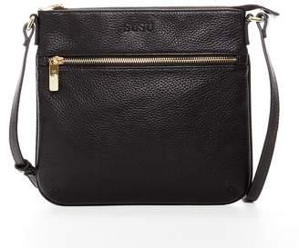 c98c06f1bd5 SUSU Tan Crossbody Bags For Women Leather Cross over Purse Purses and Handbags  Cross body Flat