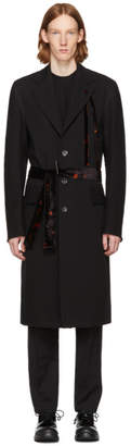 Damir Doma Black Covi Coat