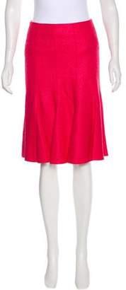 Akris Silk & Cashmere Skirt