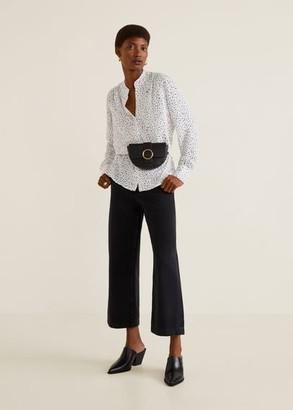 MANGO Flowy blouse white - 0 - Women