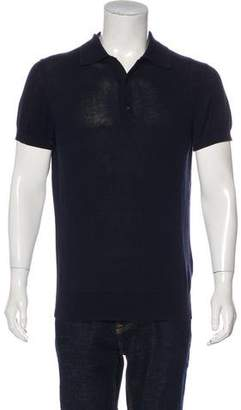 Moncler Maglia Tricot Polo Shirt