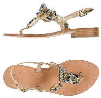 Il Sandalo DI CAPRI Toe post sandal