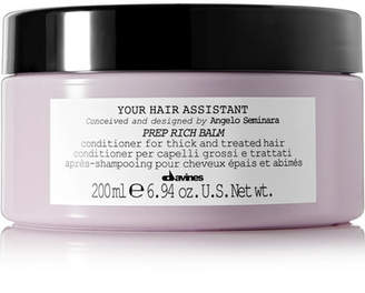 Davines Your Hair Assistant Prep Rich Balm, 200ml - one size