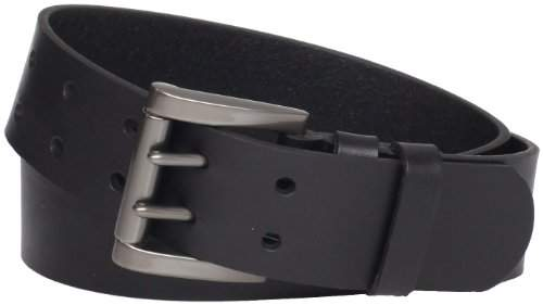 Levi's Men's 40mm Genuine Leather Two-Pronged Buckle Belt