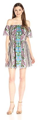 Buffalo David Bitton Women's Annabelle Off-The-Shoulder Dress $24.46 thestylecure.com