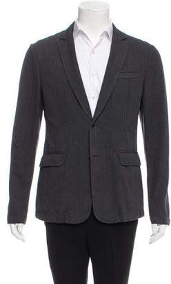 Rag & Bone Herringbone Two-Button Blazer