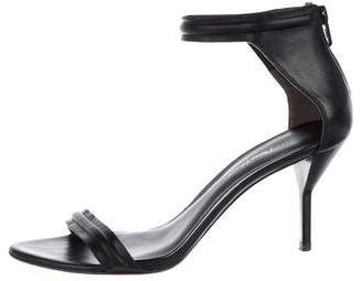 3.1 Phillip Lim Leather Ankle-Strap Sandals