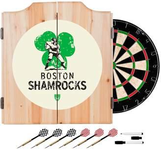 Kohl's Boston Shamrocks Wood Dart Cabinet Set