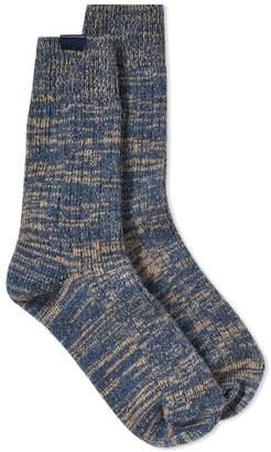 Bleu De Paname Bleu de Paname Marl Sock