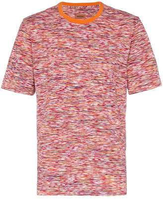 Missoni stripe print cotton T-shirt
