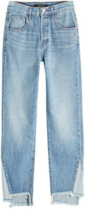 J Brand Wynne High Rise Cropped Jeans