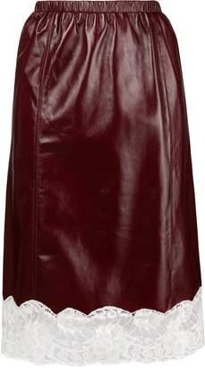 Calvin Klein lace straight skirt